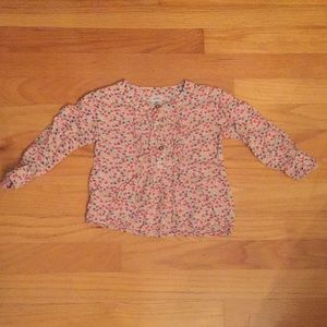 Carter's Toddler Girls 3T Floral Blouse